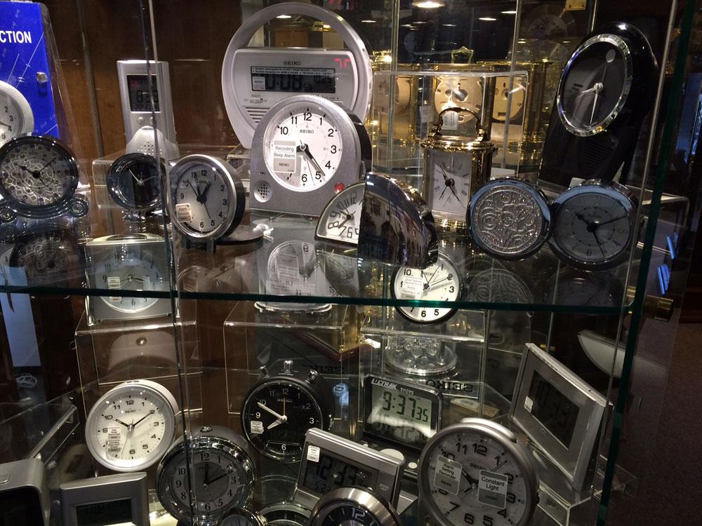 Tick Tock Shop Desktop and Alarm Clocks