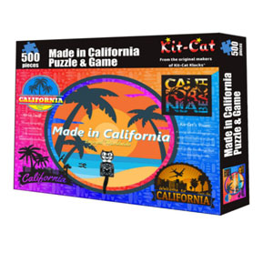 Kit-Cat Made in California Puzzle and Game