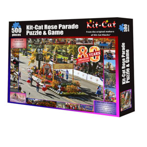 Kit-Cat Rose Parade Puzzle and Game