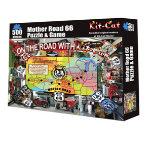 Kit-Cat Mother Road 66 Puzzle and Game