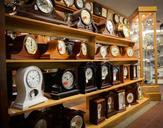 Tick Tock Shop Mantel Clocks
