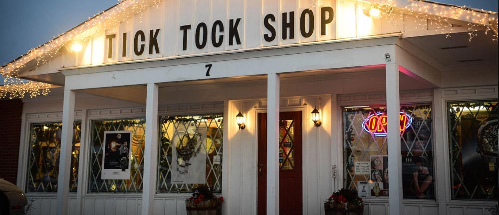 Tick Tock Shop, Colorado's largest clock shop